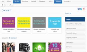 206 de les reclamacions es van fer a través del formulari electrònic que es pot trobar a la web de Consum.
