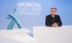 David Hidalgo, director general de la candidatura, va presentar ahir el projecte 'Objectiu 20.27' a RTVA. Foto: Natàlia Montané