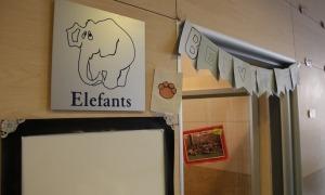 Imatge de les instal·lacions d'una escola bressol.
