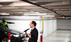 El cap de Govern, Xavier Espot, en la compareixença d'ahir.
