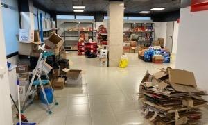 El nou local de la botiga solidària a l'avinguda de Santa Coloma va obrir a l'octubre.