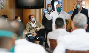 Els 39 sanitaris cubans van arribar a Andorra el passat 29 de març.