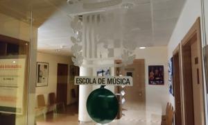 Seu de l'Escola de Música de les Valls del Nord, a la plaça del Comú de la Massana.