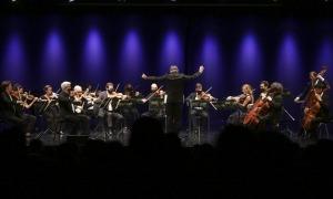 Un moment del concert per celebrar els 100 anys de l'himne.