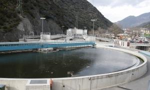 L'estació depuradora a Sant Julià recull les aigües d'aquesta parròquia, Encamp, Escaldes-Engordany i la capital.