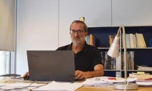 Jordi Guillamet, director de l'Institut d'Estudis Andorrans (IEA) des de fa més de dues dècades, càrrec del qual es jubilarà a finals d'aquesta setmana.