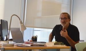 El director de l'Institut d'Estudis Andorrans, Jordi Guillamet.
