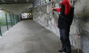 Nova galeria de tir amb arc