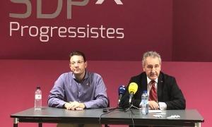 Josep Lluís Donsión i Jaume Bartumeu en una imatge d'arxiu.