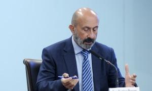 Martínez Benazet en la roda de premsa d'aquest dimecres.