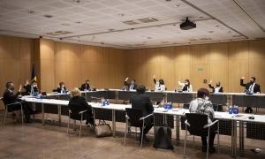 Un moment del Consell de Comú celebrat aquest dijous que s'ha allargat unes quatre hores.