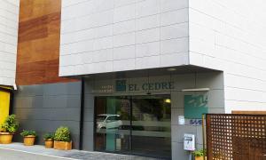 Vista de la façana del Cedre.