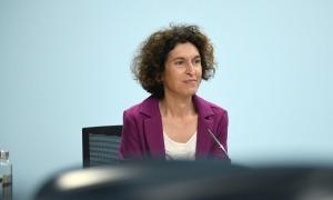 La ministra d'Afers Exteriors, Maria Ubach, ha exercit de portaveu.