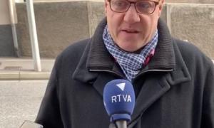 El candidat de Terceravia escaldenc, Jordi Rubia.