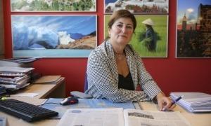 La vicepresidenta de l'Associació d'Agències de Viatges d'Andorra, Maica Terrones.