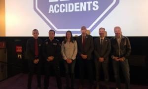 L'Automòbil Club d'Andorra va presentar les accions de la campanya 'Missió Zero Accidents' als cinemes Illa Carlemany.