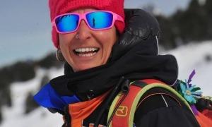 La presidenta de l'Associació de Pisters Socorristes d'Andorra, Lara Fernández.