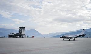 L'aeroport de la Seu d'Urgell.