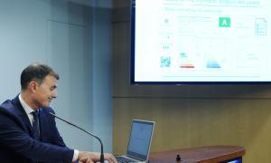 El secretari d'Estat d'Agricultura i Sostenibilitat, Marc Rossell, ahir.