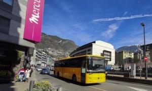 Un autobús de línia regular.