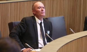 El conseller del PS Joaquim Miró.