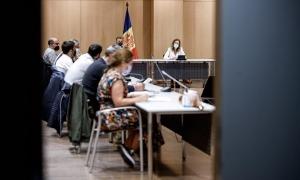 Reunió de la Comissió nacional de l'energia i el canvi climàtic.