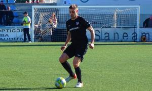 Javi Martos, amb l'FC Andorra.
