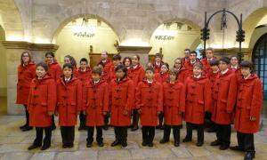 El Cor dels Petits Cantors d'Andorra.