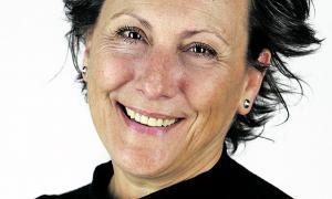 La candidata de Terceravia+Independents d'Andorra la Vella, Emi Matarrodona.