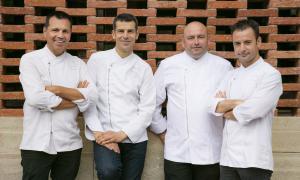 Oriol Castro, Mateu Casañas, Jordi Parra i Eduard Xatruch