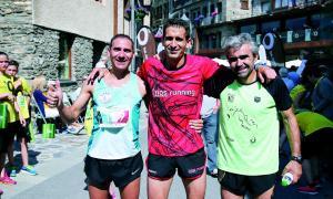 Enric Luque i Eyna Folguera guanyen la mig fons d'Ordino