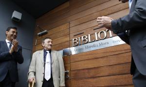 Morell, Andorra, la Massana, biblioteca, Baró, Borís, Set lletanies, La neu adversa, Espriu, Bartra