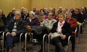 35 padrins reben les claus dels horts socials de la Margineda Padrins horts margineda