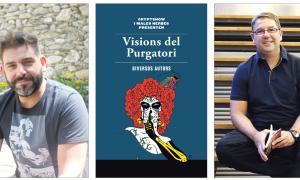 Putos zombis! Qui'ls ha parit!David Gálvez ('Transició') i Iñaki Rubio ('Aftermath') són dos dels deu autors que participen a 'Visions del purgatori', des d'avui mateix a les llibreries.