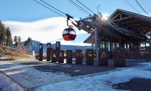 Vallnord/ UNa imatge de l'estació Pal-Arinsal