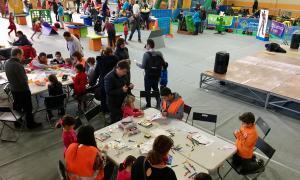 El parc de Nadal infantil de la Seu d'Urgell estarà obert fins divendres