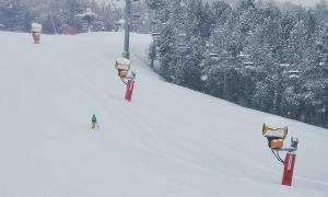Les pistes d'esquí de Pal.