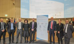 Un plenari de la Comunitat de Treballs del Pirineu, que impulsa els projectes.