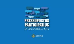 pressupostos participatius Seu Urgell