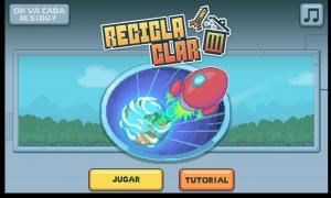 'Reciclaclar', un nou videojoc educatiu.