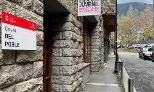 El casal del poble estarà a la Valireta fins que acabin les obres de casa comuna.