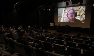 Un moment de la primera sessió amb la ponència de Pere Vilanova.