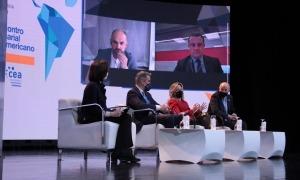 Un moment del debat sobre transformació digital i indústria 4.0.