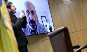 La compareixença del ministre de Salut, Joan Martínez Benazet, d'aquest migdia.