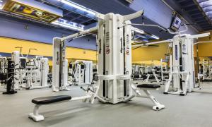 La sala de musculació del complex d'Encamp.
