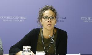 La consellera general del PS, Judith Salazar.