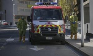 Trasllat de residents de La Salita a la unitat d'hospitalització de El Cedre; els que avui han resultat positius s'estaven a l'hotel Cèntric d'Escaldes.