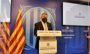 Sàmper ha comparegut aquest matí en roda de premsa per anunciar la pròrroga del confinament comarcal a Catalunya.