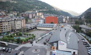 Vista de la part central de Sant Julià de Lòria