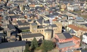 Imatge general del centre urbà de la Seu d'Urgell